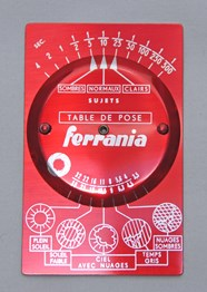 Ferrania - Table de pose