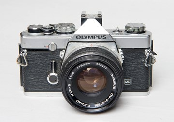 Olympus OM 1 MD Chrome