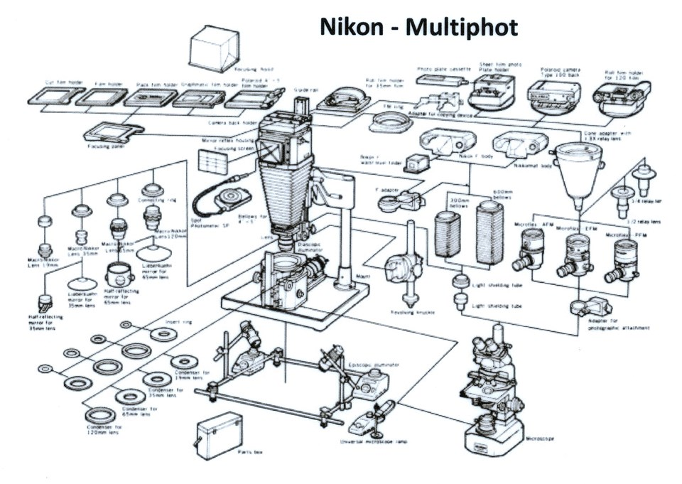 Nikon Photolab Microscope